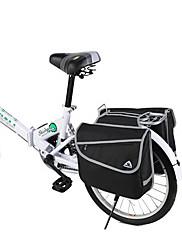 10から20インチ折りたたみ自転車600D / PVCの防水37Lダブルサイドキャリッジパック(ブラック)のためのスーツ