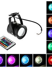 防水10W RGB光リモートコントロールLEDスポット電球(12V)