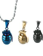 titan pánské bomba náhrdelník s přívěskem