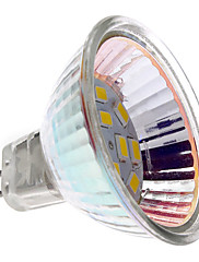 MR16 (GU5.3) 2w 12x5730smd 180LM teplé bílé světlo LED Spot žárovka (12V)
