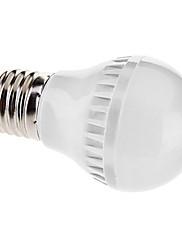 4W E26/E27 LEDボール型電球 A50 60 SMD 3528 150 lm 温白色 AC 110-130 / 交流220から240 V