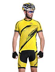 MYSENLAN COOLDRY +フレックス素材半袖速乾性の男性サイクリングスーツ