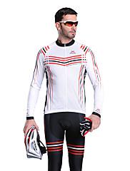 MYSENLAN COOLDRY +フレックス素材長袖Quick-Drying/Breathable男性サイクリングスーツ