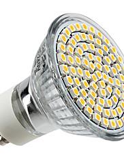 4W GU10 LEDスポットライト MR16 80 SMD 3528 300 lm 温白色 交流220から240 V