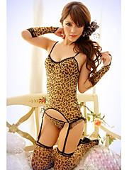 Sexy leopardí šest kusů Noční