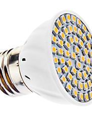 3W E26/E27 LED bodovky MR16 60 SMD 3528 240 lm Teplá bílá AC 110-130 / AC 220-240 V