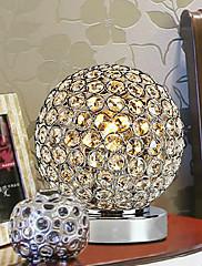 地球の形の近代的なK9クリスタルテーブルランプ220-240V