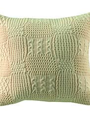 """18 """"スクエアモダンランタン模様アクリル装飾的な枕カバー"""