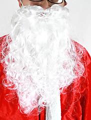 Dospělí Santa Claus Bílá tepelně odolných vláknových Beard