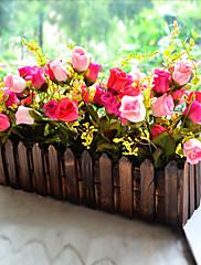 """10 """"h country stylu růžové růže uspořádání"""
