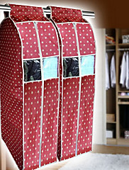 Simple Style Red Star Suit Storage Bag