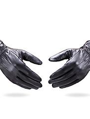 手首丈 指先 グローブ レザー パーティー/イブニング手袋 冬物手袋 日用&作業用手袋 春 秋 冬