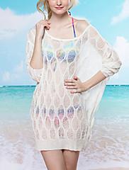 Módní Průsvitný Swim šaty