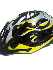 MOONサイクリングPC +イエロー+グレー一つは、自転車/バイクヘルメットフォーミング21通気口をEPS