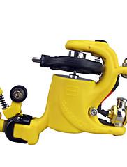 Wire-řezání Rotační tetovací strojek pro Liner a Shader (žlutá)