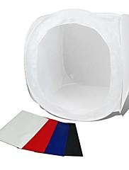 80*80CM Photo Studio Soft Box Shooting Cube Tent Softbox Photo Light Tent Portable Bag 4 Backdrops