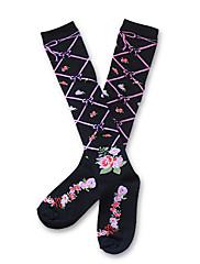 Crna cvijet i vino pamuk zemlja lolita čarape