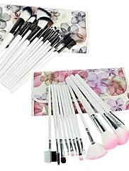 Nový profesionální 12PCS Kosmetické Makeup Brush Set Make-up s taškou 16480