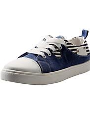 Canvas Dámská Byt Heel Sneakers Fashion Lace-up (více barev)