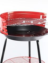 Ocelové domácností pole Portable Charcoal Apple Grill, 38x38x54cm