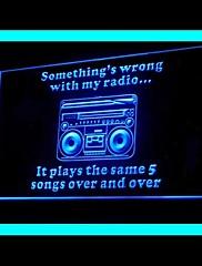 ラジオドラマの広告LEDライトサイン
