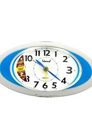 Telesonic™オリーブは常夜灯スヌーズ地上走行スーパーミュート目覚まし時計形状