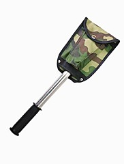 Outdoor Stainless Steel Multi-function Camping Tool Spade Suit