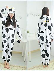 dospělý dojnice bavlněné pyžamo kigurumi zvířat spaní pro jaro&podzim