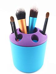 メイク用品収納 化粧品箱 / メイク用品収納 パッチワーク 10.6x9.6x9.6