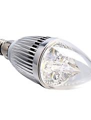 4W E14 LEDキャンドルライト 4 ハイパワーLED 360 lm ナチュラルホワイト 明るさ調整 交流220から240 V