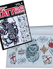 Poseban uzorak tetovaža uzorak knjiga
