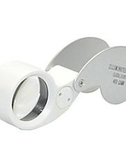 虫眼鏡 40x 25 金属