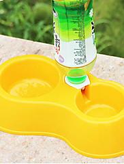 ペットの犬のフードボウルの水の噴水ペット