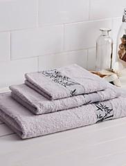 3 Pack Bamboo Bath Towel Set,1 pc Bath Towel/Hand Towel/Wash towel