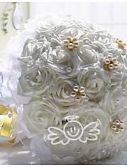 30 rosas boda ramos de flores broche de las flores de la novia de la boda de novia ramos boutonnieres (más colores)