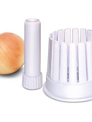 ブランドの新しい熱い販売繊細なプラスチック製のキッチンのタマネギの花メーカータマネギスライサーカッター