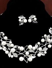 Magnifique parure de bijoux en perles nacrées