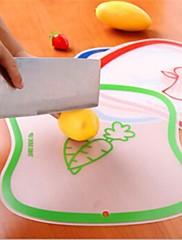 透明まな板、プラスチック40×30×0.5センチメートル(15.8×11.9×0.2インチ)ランダムな色