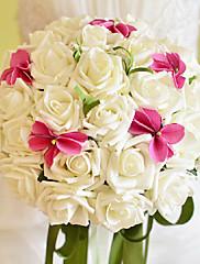 Magnifique bouquet de roses blanches