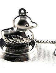 kachna z nerezové oceli čaj infuser sítko sítka zamykání koření míč 10x5.1x4.5cm