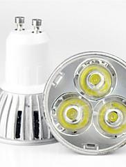 1 ks MORSEN GU10 3 W 1 High Power LED 200-250 LM Teplá bílá/Chladná bílá PAR Bodovky AC 85-265 V