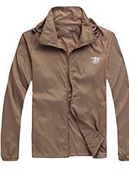 Unisex sako Vrchní část oděvu Outdoor a turistika Lov Rybaření LezeníVoděodolný Prodyšné Rychleschnoucí Odolné vůči dešti Přední zip
