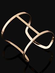 Žene Široke narukvice Moda Europska Legura Square Shape Geometric Shape Jewelry Za Party Dnevno Kauzalni 1pc