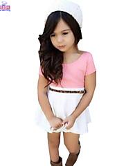 Djevojka je LjetoJednobojni-Mješavina pamuka-Ljeto-Više boja