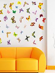 ウォールステッカーウォールステッカースタイル着色蝶PVCウォールステッカー