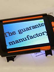 3,5 palcový LCD Přenosný digitální lupa elektronická pomůcka čtení Video zesilovač pro nízké vidění lidi (2-32 krát)