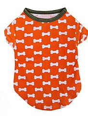 犬用品 用- テリレン - Tシャツ - オレンジ