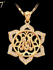 Ogrlica s privjeskom Vintage/Slatko/Zabava/Posao/Ležerne prilike ( Legure/Pozlata od platine/Štras/Pozlaćeni nakit )