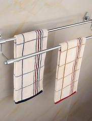 moderní elegantní mosaz chrom 60cm doble držák na ručníky