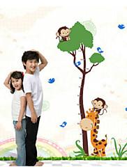Zvířata / Módní Samolepky na zeď Samolepky na stěnu , PVC 90cm*60cm
